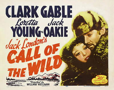 Halloween Movies - Call of the Wild - 1935 by Stars on Art