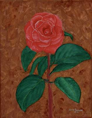 Painting - Camellia by Terry Frederick