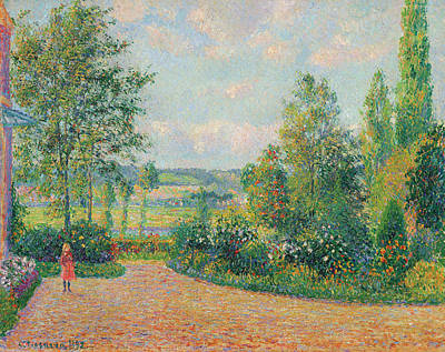 Lake Life - Camille Pissarro  The garden Octave Mirbeau, the terrace, The Damps by MotionAge Designs