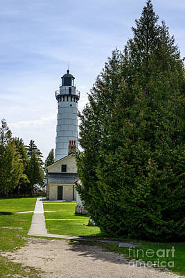 Comedian Drawings Rights Managed Images - Cana Island Lighthouse Royalty-Free Image by Thomas R Fletcher