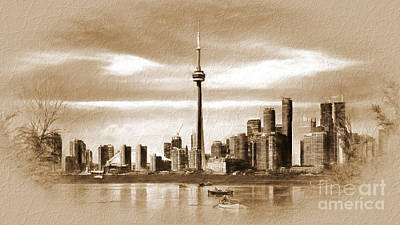 David Bowie - Canada-Toronto city  by Gull G