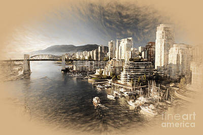 David Bowie - Canada-Vancouver-city by Gull G