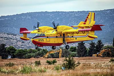 Beastie Boys - Canadair CL-415  by Rick Mann