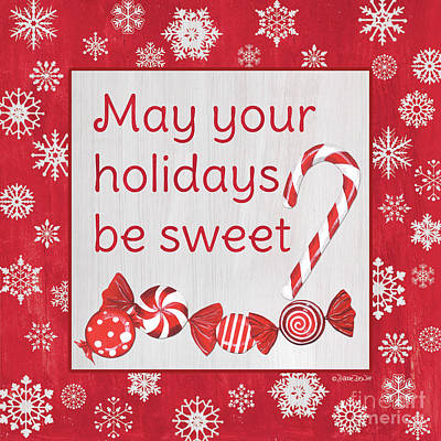 Royalty-Free and Rights-Managed Images - Candy Cane Lane Sweets 1 by Debbie DeWitt