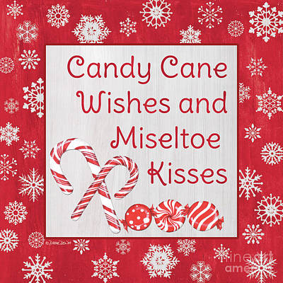 Royalty-Free and Rights-Managed Images - Candy Cane Lane Sweets 2 by Debbie DeWitt