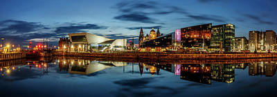 Photograph - Canning Dock Panorama - Liverpool by Paul Madden