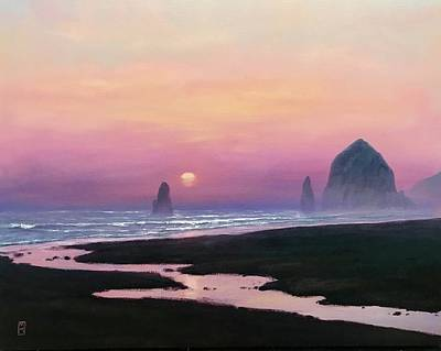Royalty-Free and Rights-Managed Images - Cannon Beach  by Michael Orwick