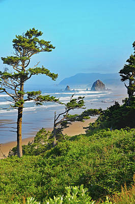 Photograph - Cannon Beach's Haystack Rock by Curt Remington