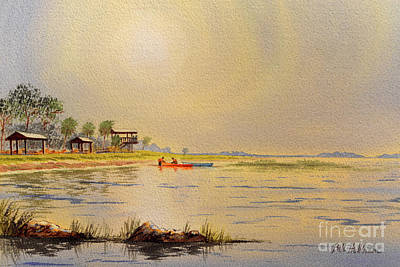 The Champagne Collection - Canoeing The Gulf Of Mexico by Bill Holkham
