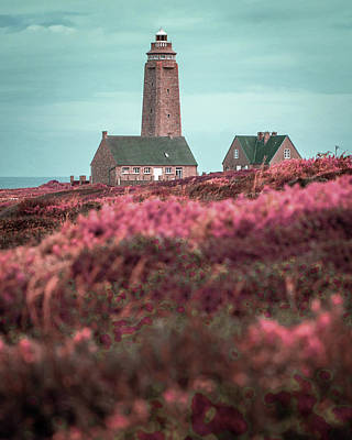 Surrealism Royalty-Free and Rights-Managed Images - Cap Levi Lighthouse  Barfleur, Arrondissement de Cherbourg, Normandy France 4 - Surreal Art by Ahmet by Celestial Images