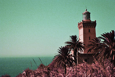 Surrealism Royalty-Free and Rights-Managed Images - Cap Spartel Lighthouse, Morocco - Surreal Art by Ahmet Asar by Celestial Images