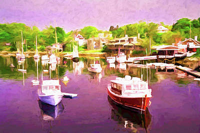 Achieving - Cape Cod Harbor 2 by Allen Beatty