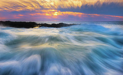 Royalty-Free and Rights-Managed Images - Cape Perpetua Rush by Darren White
