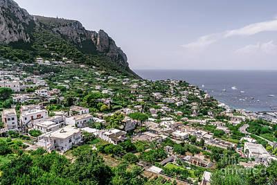 Photograph - Capri  by Kasra Rassouli