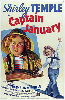 Keith Richards - Captain January - 1936 by Stars on Art