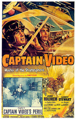 Royalty-Free and Rights-Managed Images - Captain Video movie poster 1951 by Stars on Art