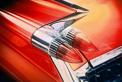 Photograph - Car Rocket Fin by Mediamerge - Dan Roitner