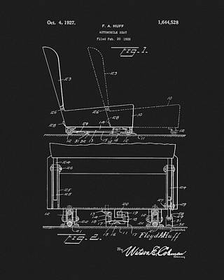 Impressionist Landscapes - Car Seat Patent by Dan Sproul