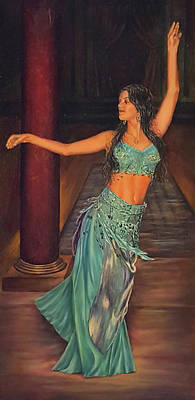 Painting - Carina by John Entrekin