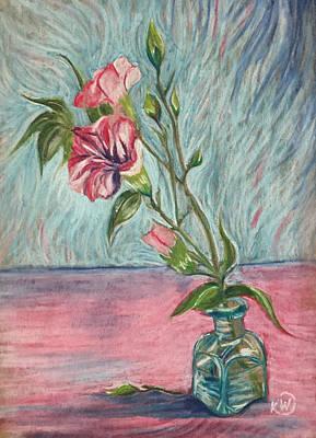 Pastel - Carnations by Karen Wysopal