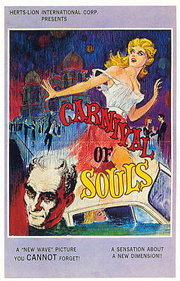 Royalty-Free and Rights-Managed Images - Carnival of Souls movie poster 1962 by Stars on Art