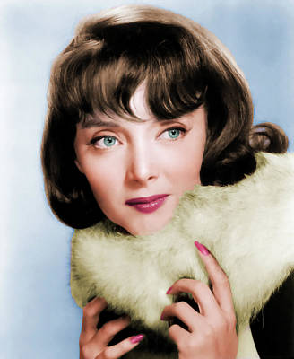 Royalty-Free and Rights-Managed Images - Carolyn Jones by Stars on Art