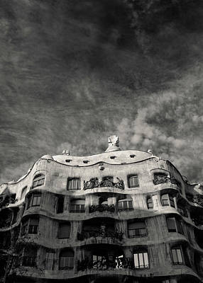 Surrealism Royalty-Free and Rights-Managed Images - Casa Mila by Dave Bowman