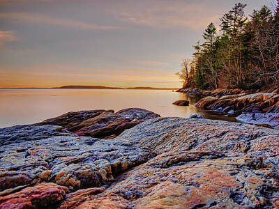 Photograph - Casco Bay Reflections by Scott Thomas Images