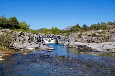 Outerspace Patenets - Alcantara River, Castiglione di Sicilia, Sicily, Italy. by Joe Vella