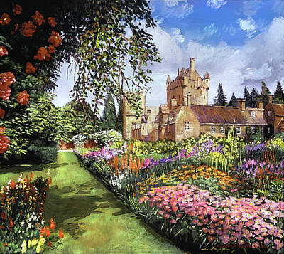 Amy Weiss - Castle Gardens by David Lloyd Glover