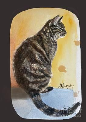 Painting - Cat  by Gita Vasa
