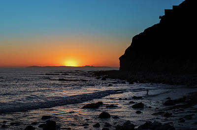 The Rolling Stones - Catalina Silhouette 02252020 by Lonnie Christopher