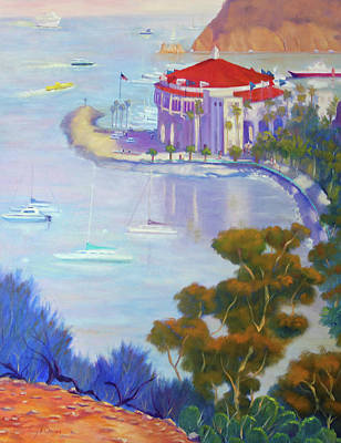 Painting - Catalina Wrap by Terry Chacon