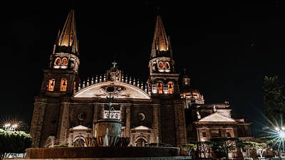Modern Sophistication Beaches And Waves Royalty Free Images - Catedral de Guadalajara Royalty-Free Image by Fernando Valenzuela