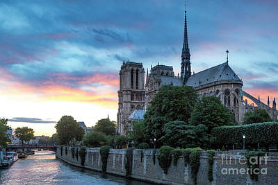 Latidude Image - Cathedral Notre Dame - Paris II by Brian Jannsen