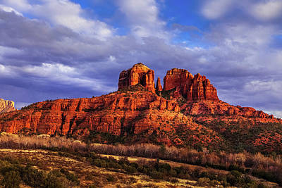 Royalty-Free and Rights-Managed Images - Cathedral Rock by Andrew Soundarajan