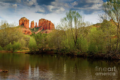 A White Christmas Cityscape - Cathedral Rock Spring by Jon Burch Photography