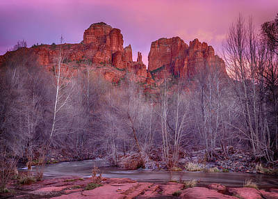 Design Turnpike Books - Cathedral Rock Sunset by Stephen Stookey