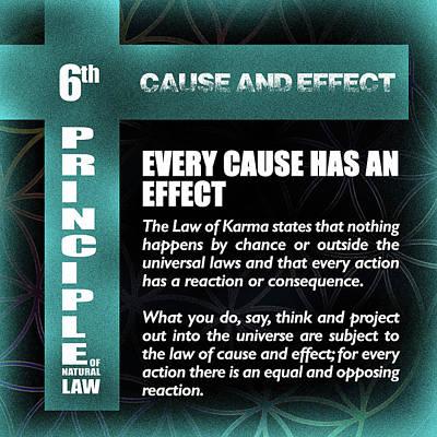 Digital Art - Cause and Effect by Az Jackson