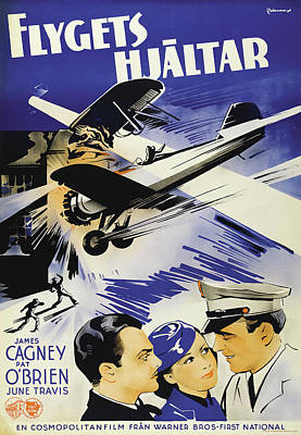 Royalty-Free and Rights-Managed Images - Ceiling Zero, with James Cagney and Pat OBrien, 1936 by Stars on Art