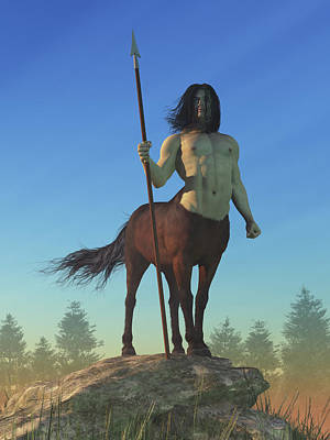 Royalty-Free and Rights-Managed Images - Centaur by Daniel Eskridge