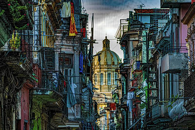 Rose - Central Havana Street  by Chris Lord
