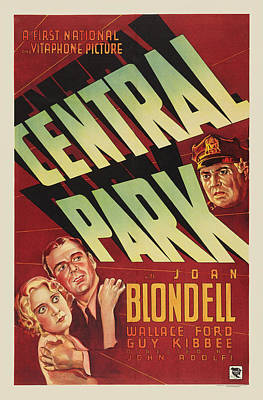 Royalty-Free and Rights-Managed Images - Central Park, with Joan Blondell, 1932 by Stars on Art