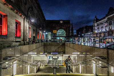 Caravaggio - Central Station ad0098 by David Pringle