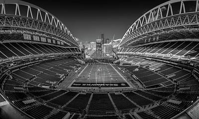 Sports Royalty-Free and Rights-Managed Images - Seattle Seahawks #67 by Robert Hayton
