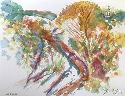Painting - Cerrillos River Galisteo  by Glen Neff