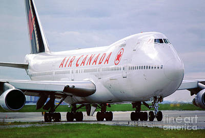 Personalized Name License Plates - CF-TOD Boeing 747-133, Air Canada ACA by Wernher Krutein