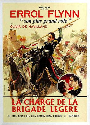 Royalty-Free and Rights-Managed Images - Charge of the Light Brigade with Errol Flynn, 1936 by Stars on Art