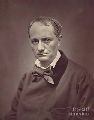 Royalty-Free and Rights-Managed Images - Charles Baudelaire, Artist by Esoterica Art Agency