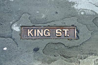 Lovely Lavender - Charleston Street Marker 9731 by Jack Schultz